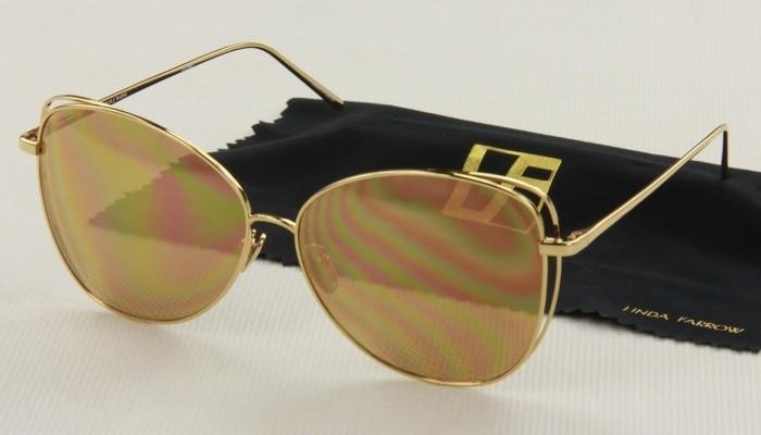 Okulary przeciwsłoneczne Linda Farrow LFL566_6213_1