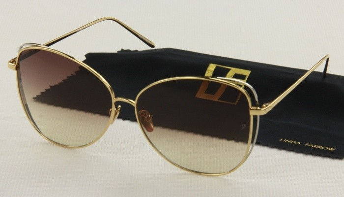Okulary przeciwsłoneczne Linda Farrow LFL566_6213_5