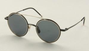 Okulary przeciwsłoneczne Thom Browne TB108A-T-BLK-GLD_50