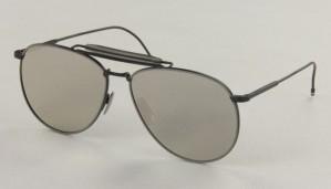 Okulary przeciwsłoneczne Thom Browne TB015-LTD-BLK-GRY_62