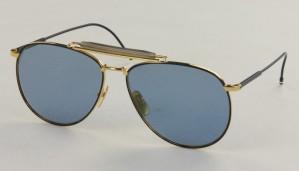 Okulary przeciwsłoneczne Thom Browne TB015-LTD-NVY-GLD_62
