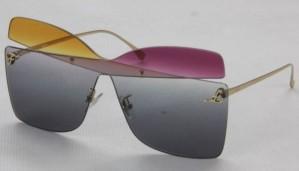 Okulary przeciwsłoneczne Fendi FF0399S_01B9O