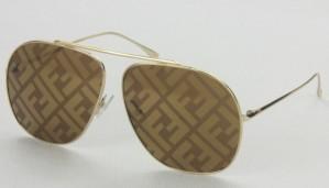 Okulary przeciwsłoneczne Fendi FF0407GS_6411_01QEB