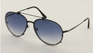Okulary przeciwsłoneczne Tom Ford TF527_6114_01W